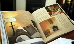 The Vintage Home Book inside