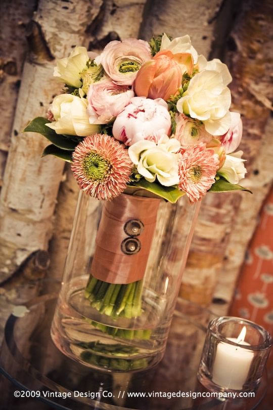 Vintage style bouquet