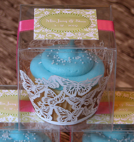 Cupcake Favours As An Alternative To A Wedding Cake Its Possible Slatersparke