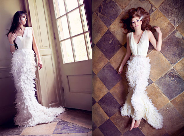 Charlotte Casadéjus wedding dresses